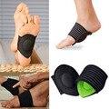 1 par nueva Strutz amortiguado arco de soporte de pie disminuir fascitis Plantar dolor para productos de cuidado del pie