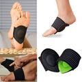 1Pair New Strutz Cushioned Arch Foot Support Decrease Plantar Fasciitis Pain For Foot Care Products
