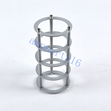 1pc Vacuum Aluminum Tube Guard Protector Cover Black For 845 211 300B KT88 6550 2A3 Audio Amp