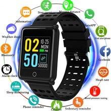 Smart Bracelet 1.44 Color Screen Heart Rate Blood Pressure Monitoring GPS Track Movement IP68 Waterproof Health Watch PK Q9 F3