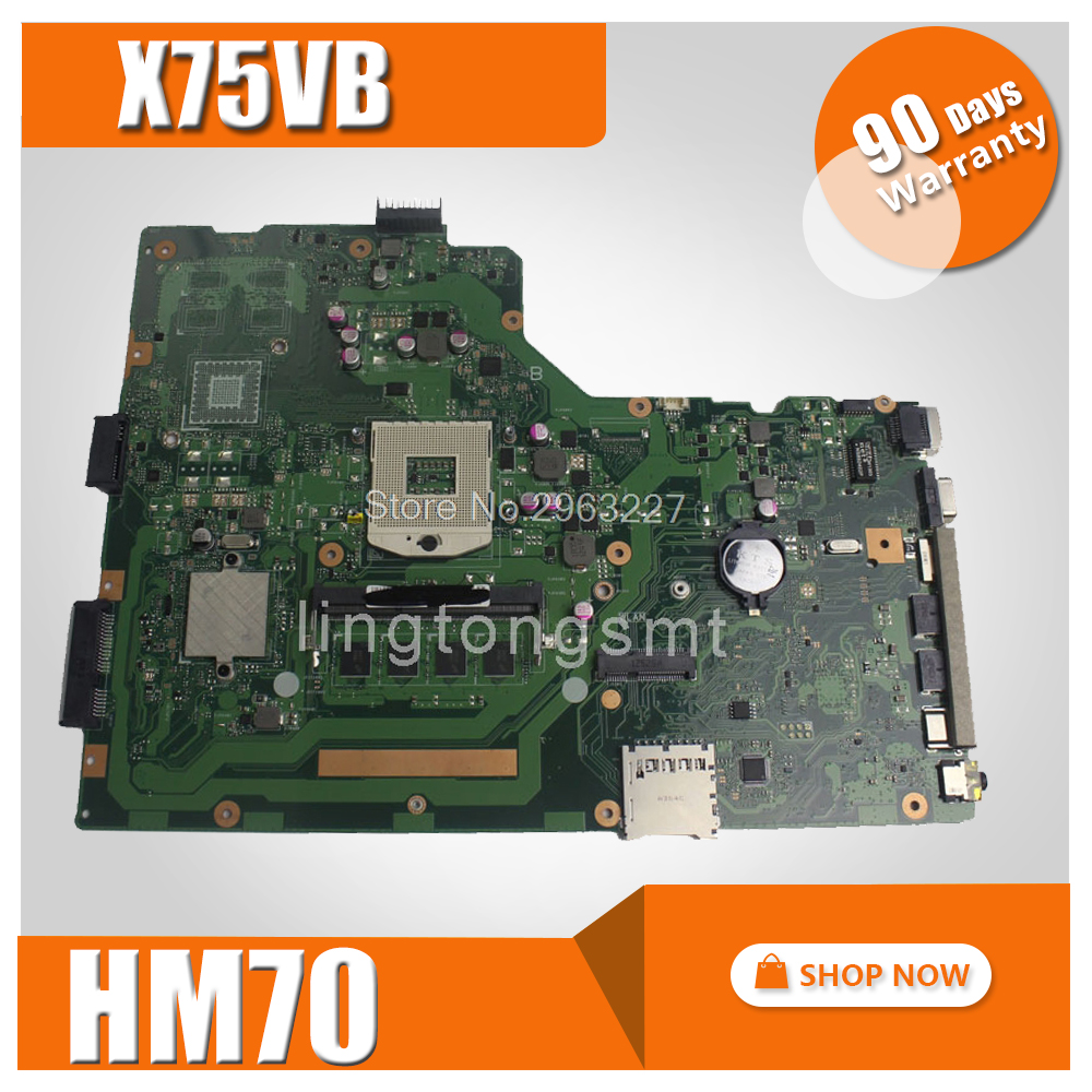 X75VB Motherboard REV:2.0 4G Memory For ASUS X75VC X75VD X75V Laptop motherboard X75VB Mainboard X75VB Motherboard free shipping x75vd gt610m with 4g ram mainboard for asus r704v x75vd x75vb x75vc x75v motherboard rev 2 0 100