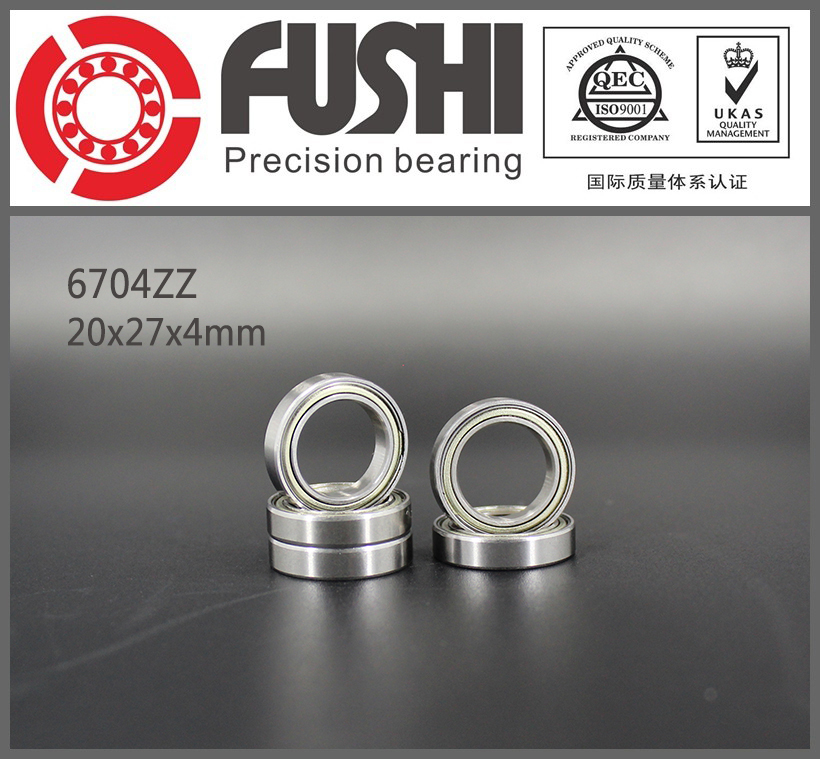 6704ZZ Bearing ABEC-1 (10PCS) 20x27x4 mm Thin Section 6704 ZZ Ball Bearings 61704ZZ 6903zz bearing abec 1 10pcs 17x30x7 mm thin section 6903 zz ball bearings 6903z 61903 z