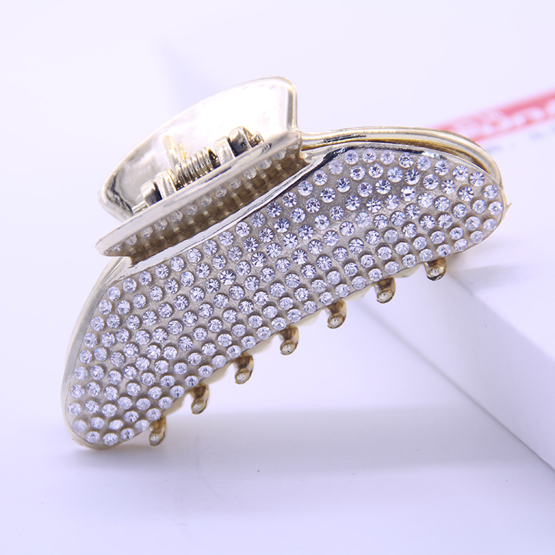 Fashion Women Headwear Shower Hair Catcher Strainer Rhinestone Hair Claw Hair Clips Vintage Hair Accessories for Women in Women 39 s Hair Accessories from Apparel Accessories