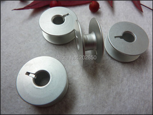 Image 1 - Industrial Embroidery Sewing Machine Aluminum Bobbins,Grooved,#55623A,W/ Height 8.8mm&OD20.8mm, 100Pcs/Lot,For Juki,Brother...