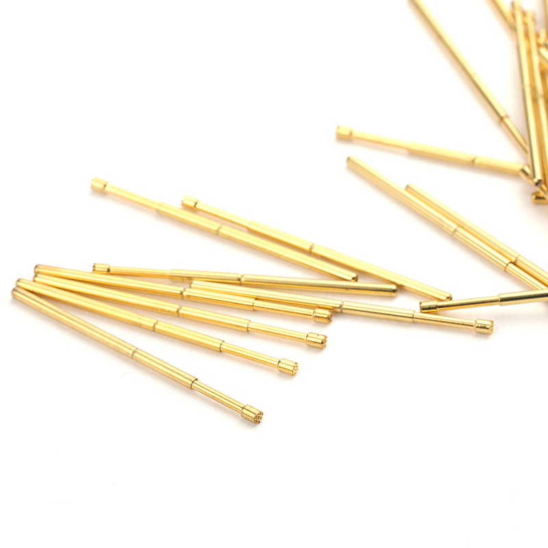 PA100 H Metal Brass Spring Test Probe Convenient And Durable Spring Test Probe 100 PCS Test Probe Sleeve Length 33 35mm Probe in Springs from Home Improvement