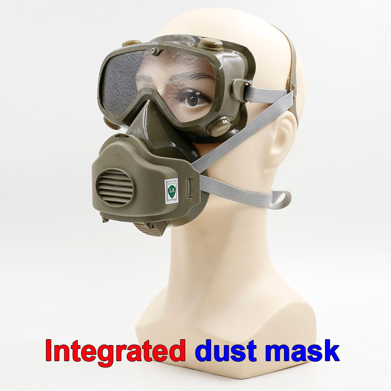 respirator dust mask One-piece protective glasses respirator mask dust smoke particle safety protect full face respirators security labour protective mask equipment bicyle masks against the warm full face mask pirates of the caribbean dust mask fc