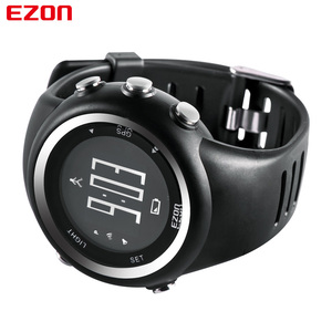 Image 3 - EZON T031 Mens GPS Sports Watches 50M Waterproof Distance Pace Calorie Counter GPS Timing Multifunctional Digital Wrist Watches