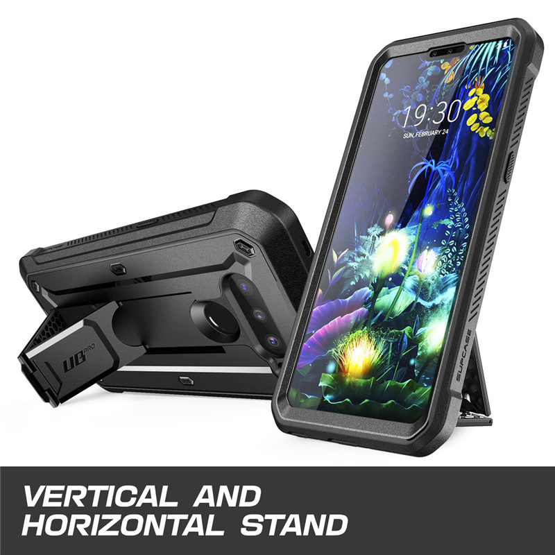 Image 2 - For LG V50/LG V50 ThinQ 5G Case 2019 SUPCASE UB Pro Heavy Duty Full Body Rugged Holster Cover with Built in Screen Protector-in Fitted Cases from Cellphones & Telecommunications