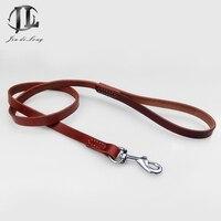 Pet Dog Dây Xích Trên Lớp Da Bò Chính Hãng Da Đi Bộ Đào Tạo Chain & Rope Vật Nuôi Sang Trọng Dây Xích Bền Handmade Dog Leash