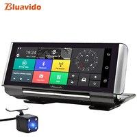 Bluavido 6.86 Inch 4G Car DVR Camera GPS FHD 1080P Android Dash Cam Navigation ADAS Car Video Recorder Dual Lens Reverse image