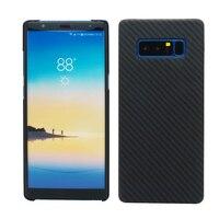 100 Real Carbon Fiber Case For Samsung Galaxy Note 8 Ultra Thin Deluxe Kevlar Aramid Fiber