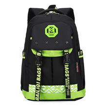 Купить с кэшбэком Male Capacity Backpack Children Schoolbags Orthopedic Waterproof Backpack Satchel Mochila High Quality Travel Bags Infantil Zip