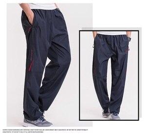 Image 3 - Grandwish男性の冬のサイズウールインサイド冬暖かい男性厚いパンツプラスサイズ6XLメンズフリースパンツズボン、PA782