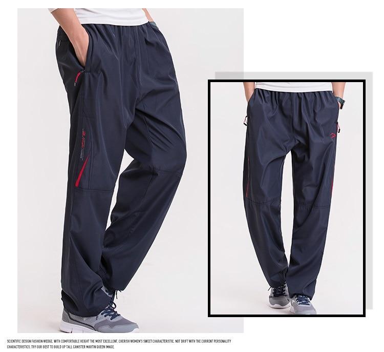 Pantalones de invierno de los hombres Grandwish Gran tamaño de lana - Ropa de hombre - foto 3