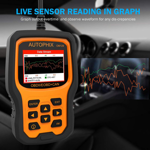 Image 4 - Autophix om129 obd2 scanner ler códigos de diagnóstico automático scanner verificar motor bateria carro código leitor obd ferramentas