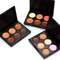 Popfeel 6 Colors Makeup Face Cream Concealer Palette Brighten Concealer Contour Cream Contouring Palette