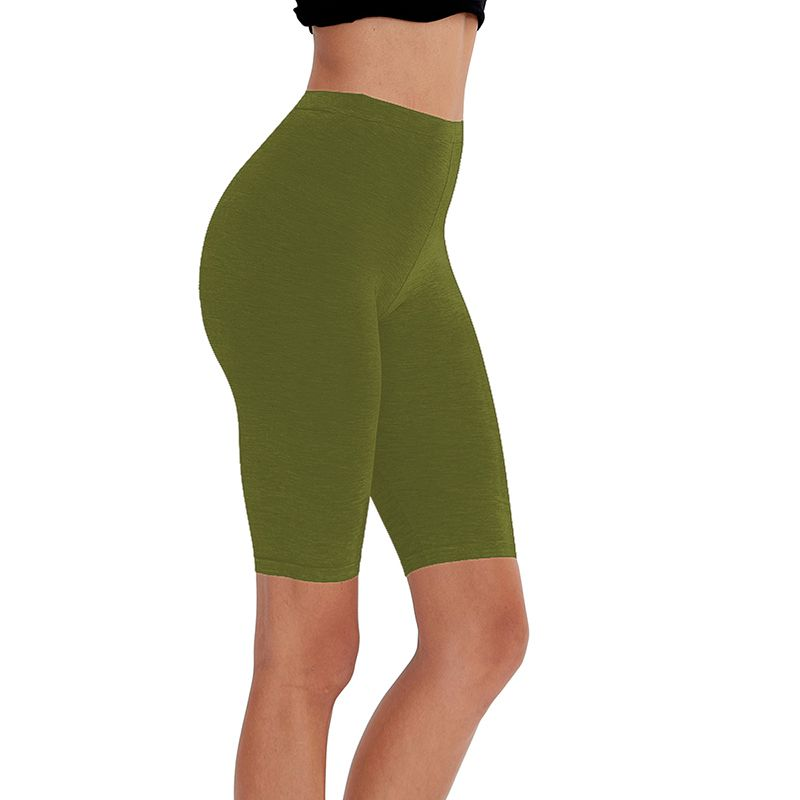 HTB1Nb3dXRWD3KVjSZFsq6AqkpXaK - 95% cotton 5% spandex women slimming running shorts skinny very soft highly stretchy girl short M30292