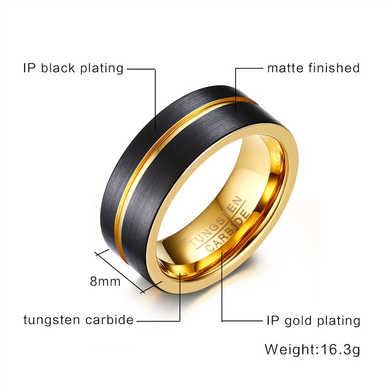finish wide pin minimalvs satin band jewellery rings by bands gold