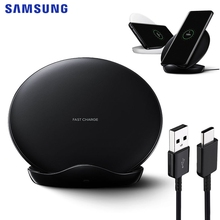 Original Fast Wireless Charging Pad For Samsung Galaxy S9 Plus 10 S8 S7 Edege+ Note 9 8 iPhone XS charger