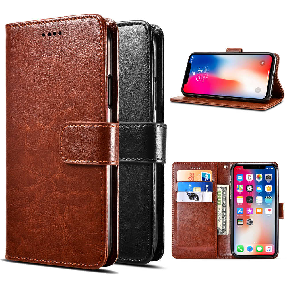 Pour Xiaomi Pocophone F1 luxe rétro portefeuille en cuir synthétique polyuréthane Flip housse de support pour Xiaomi Pocophone F1 téléphone étui de protection Cove