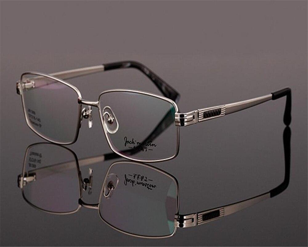 Discreet 57-16-140 Business Designer Pure Titanium Super Light Full Rim Optical Myopia Eyewear Gold Silver Spectacle Eyeglasses Zjh81369 Colours Are Striking Apparel Accessories Men's Glasses