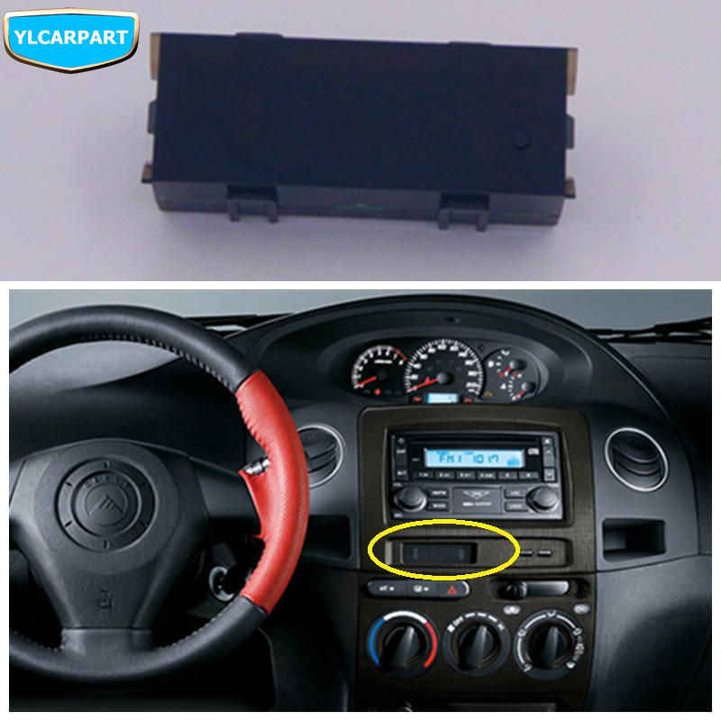 For Geely MK 2,MK2,MK Cross Hatchback,Car electronic clock LCD display