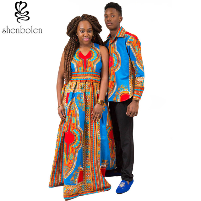 African Clothing 2016 summer sleeveless maxi dresses for women dashiki wax  batik printing men s tops lady bd8022216c5c
