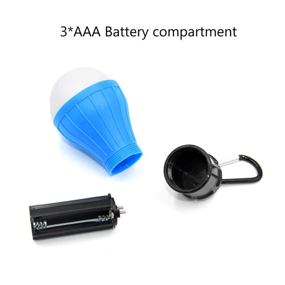 Мини портативный фонарь палаточный свет светодио дный лампа аварийная лампа водостойкий подвесной крючок 3 режима фонарик для кемпинга использование 3 * AAA факел