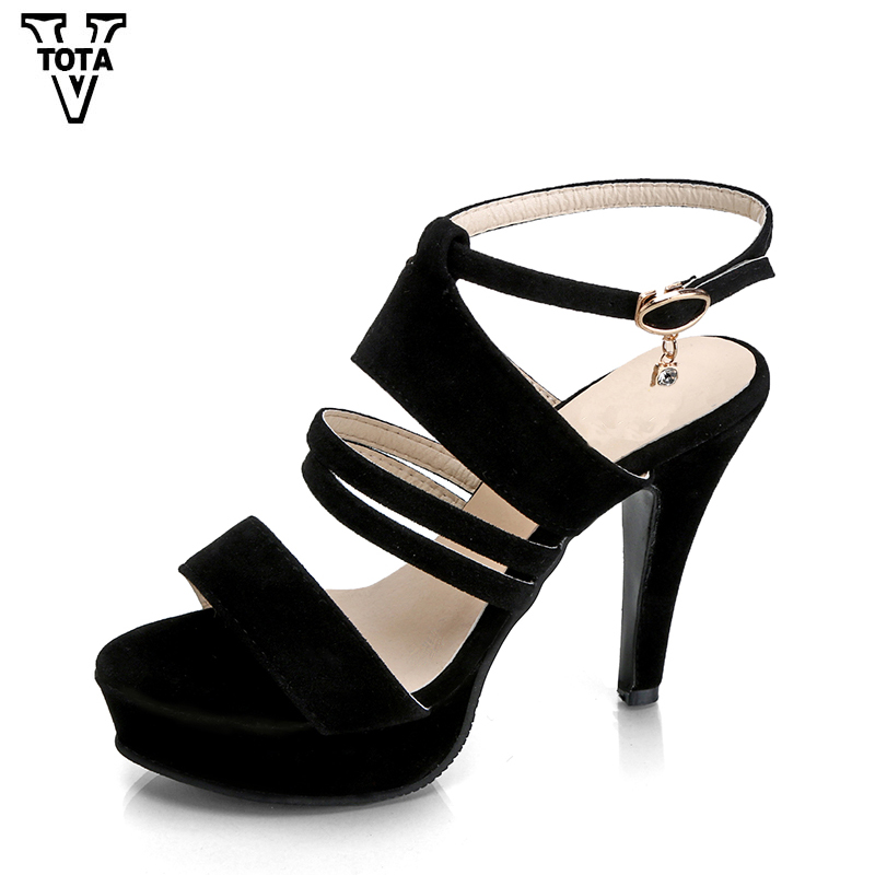 Gladiator Women Sandals Casual Wedges Open Toe Shoes Woman High Heel Sandals Women's Leisure Platform Sandals Thin Heels OU02 2017 summer shoes woman platform sandals women soft leather casual open toe gladiator wedges trifle mujer women shoes b2792