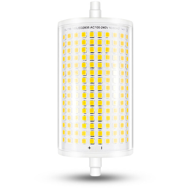 118mm Led Light Bulb J118 R7s Dimmable Flood 14w Double Ended J Type Halogen 100w 150w Floodlight Replace