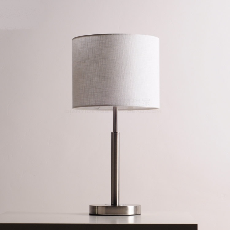 Tvertical réglable lumière courrier sac moderne minimaliste lampes de Table créatif tissu lampe de table élégant salon table lumière