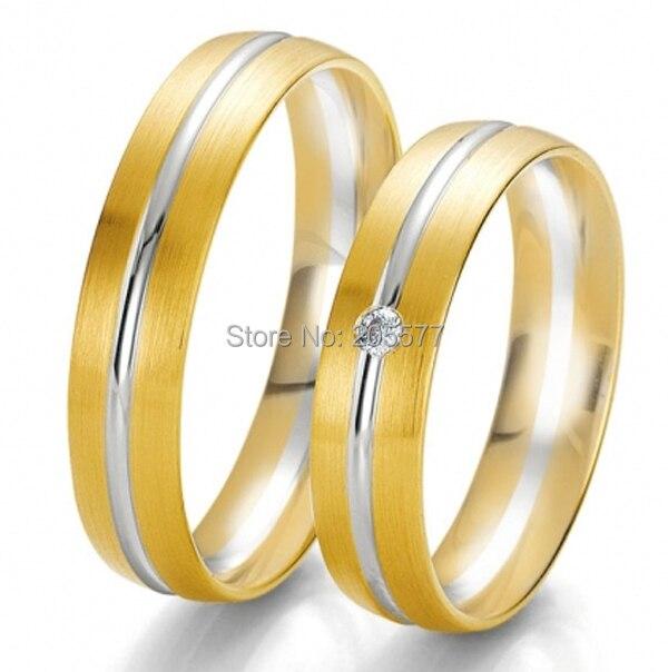 Европа западный стиль желтое золото пользовательские обручальные кольца jewelry кольца наборы для 2014