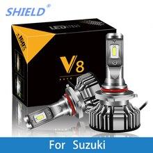 Car Headlight For Suzuki Sidekick/Samurai/Reno/Kizashi/Forenza/Esteem/Aerio/Carry/Vitara H7 LED H4 LED H1 H7 H3 8000LM CSP Light цены