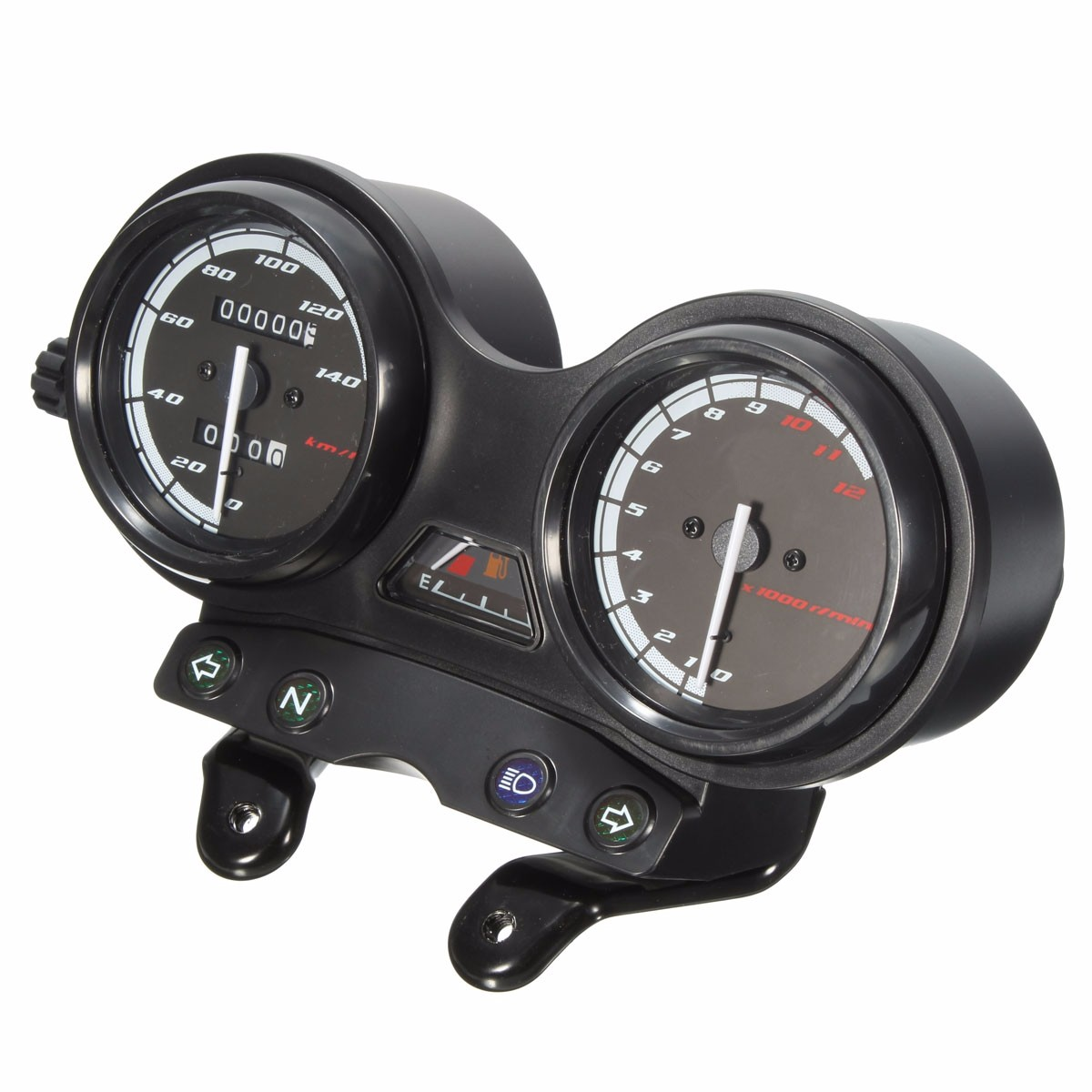 DC 12 V Motorrad Motorrad Komplette Uhren Geschwindigkeitsmesser Für YAMAHA YBR 125