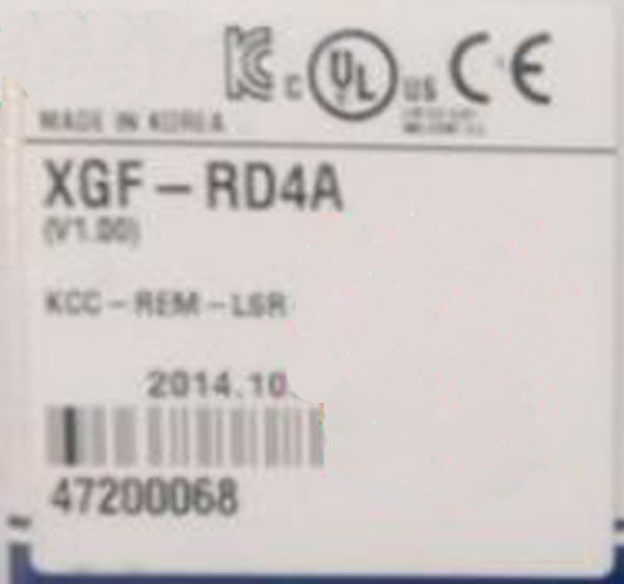 Medium large PLC Special module XGF-RD4A plc srt2 od04
