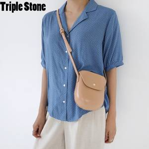 8a0cb447bc TRIPLE STONE Design Women Leather Small Lady Handbags
