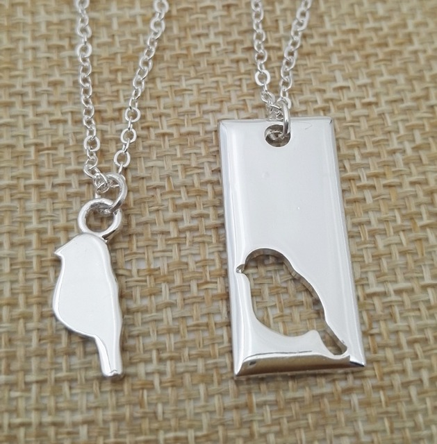 Simple women everyday feminine dainty little bird mother daughter simple women everyday feminine dainty little bird mother daughter necklace set necklaces pendants for girl aloadofball Choice Image