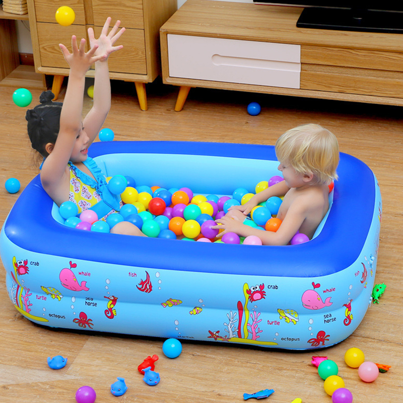 Inflatable Baby Swimming <font><b>Pool</b></font> Piscina Portable Outdoor Indoor Children Basin Bathtub kids <font><b>pool</b></font> baby swimming <font><b>pool</b></font> <font><b>Water</b></font> image