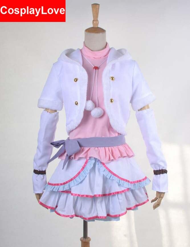 Love live Snow Halation Tojo Nozomi Cosplay Costume Custom-made For Christmas Halloween CosplayLove