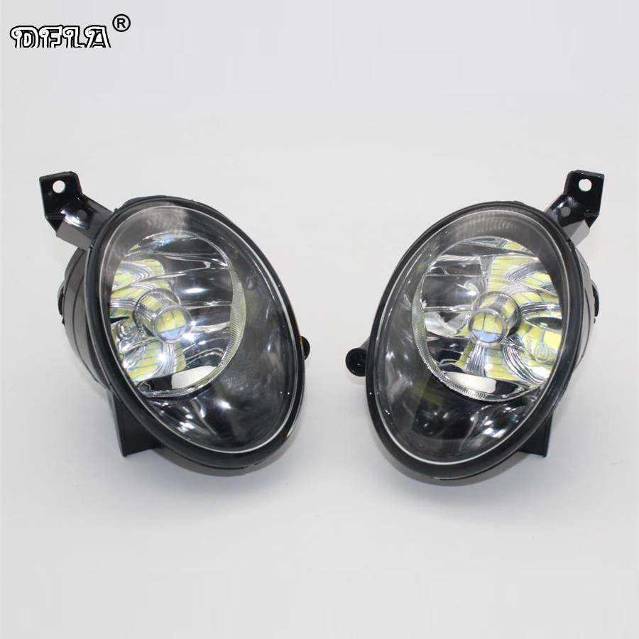 Car LED Light For VW Caddy Touran 2011 2012 2013 2014 2015 2016 New Front LED Fog Light Fog Lamp With LED Bulbs автоинструменты new design autocom cdp 2014 2 3in1 led ds150