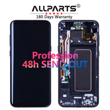 SAMSUNG Galaxy için ORIJINAL AMOLED Ekran S8 Ekran Değiştirme LCD Dokunmatik Sayısallaştırıcı Meclisi S8 Artı LCD G950 G950F G955 G955F