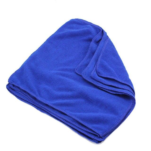 5x28x28 cm chłonne dom kuchnia ściereczka do czyszczenia mycia niebieski miękkie Ręczniki z mikrofibry materiały kąpielowe