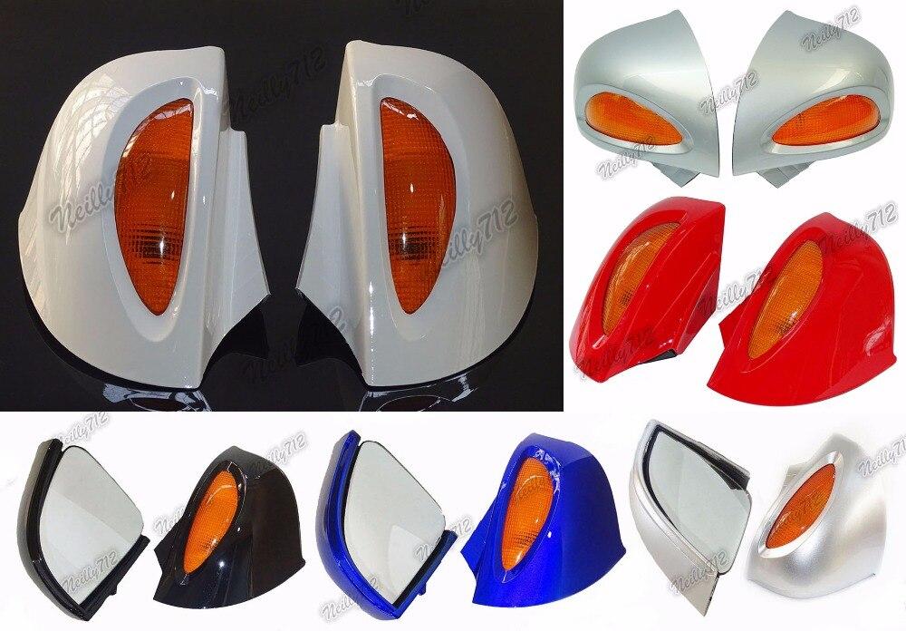 Мотоцикл Запчасти заднего вида Зеркала с поворота объектива серебро для BMW r1100rt r1150rt R1100 RT RTP r1150 RT