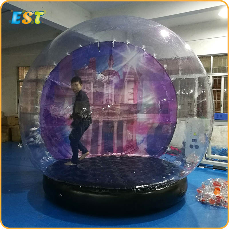 4m Blow Up Snow Ball Inflatable Snow Globe Inflatable Human Size Snow Globe Balloons For Chirstmas Decoration Advertisement Moderate Price Toys & Hobbies