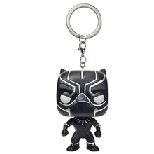 Marvel Action Figure Toys Gifts Keychain Model Black Panther Avengers Infinity War Endgame