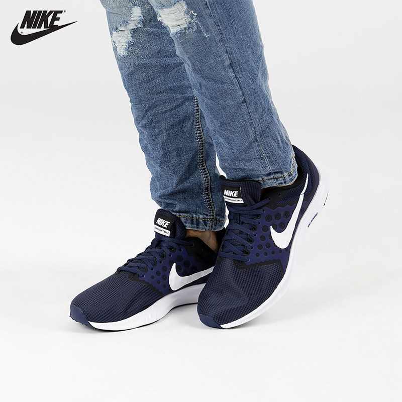 NIKE Men's blue sports casual shoes
