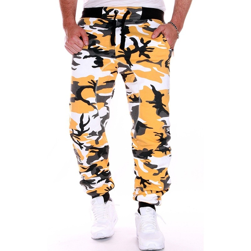 Zogaa 2019 Spring New 7 Colors Men Camouflage Trousers Jogging Trousers Sports Pants Fitness Sport Jogging Army Plus Size S-3xl
