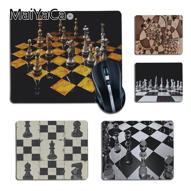 MaiYaCa Your Own Mats Chess Office Mice Rubber Mouse Pad Keyboard Mat Desk Mat Durable PC Anti-slip Mouse Mats To Mouse Gamer