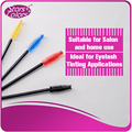 50 pieces/bag Plastic eyelash brush Eyelash extension tools brush mascara make-up gereedschap wands zweep