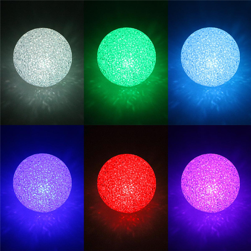 Creative And Cute Night Lights Colorful Crystal Ball Night Lamp With EVA Material Nightlamp Small Light